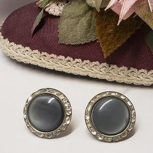 Unique Vintage Earrings, Screw Back Earrings